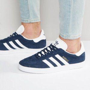 adidas Originals Gazelle suede sneakers Navy Blue
